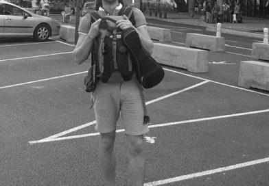 Au départ de l'aéroport de Lyon Saint Exupery pour un voyage d'un mois au canada dans la région de Québec.