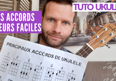 Tutos accords majeur ukulélé